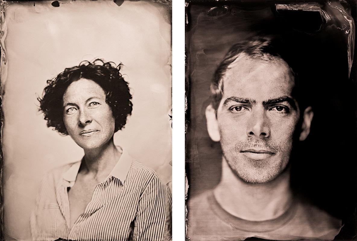 Aude Boissaye et Cyril Burget